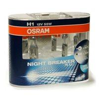 Лампа  OSRAM H1 Nigth Breaker Unlimited H1 12V 55W (неориг) (DUO BOX)
