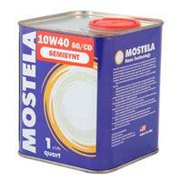Масло  MOSTELA 10W40 Semisynt SG/CD  1л (жест/банка)