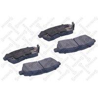Колодки тормозные дисковые Ford Fiesta 1.25-1.6i/1.4-1.6DCi 08-