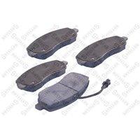 Колодки дисковые передние Renault Master IV, Opel Movano 2.3CDTI 10-