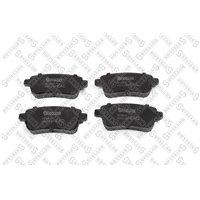 Колодки дисковые задние Renault Megane Sedan/Coupe 08-