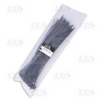 Хомут пластиковый LSA 2,5*200 (в упак. 100шт.) черный (LA 2.5x200B)