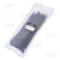 Хомут пластиковый LSA 2,5*150 (в упак. 100шт.) черный (LA 2.5x150B)