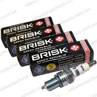 Свеча зажигания BRISK SILVER LR15YS  длин.( упак 4 шт.) (2101 газ)