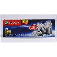 Лампа Zollex габаритов 1 конт P5W 12V (10шт) (9524)
