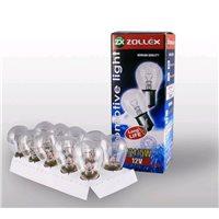 Лампа Zollex габаритов 2 конт P21/5W 12V (10шт) (8724)