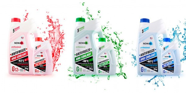 Охлаждающие жидкости Nowax – качество премиум класса